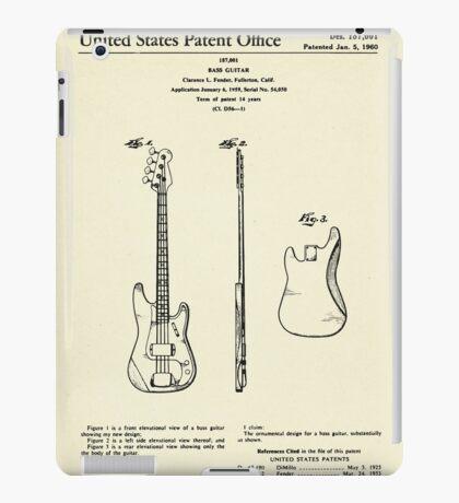 Bass Guitar-1960 iPad Case/Skin
