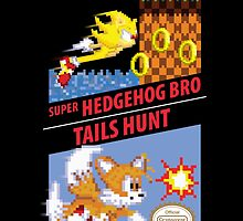 Super Hedgehog Bro & Tails Hunt by RetroReview