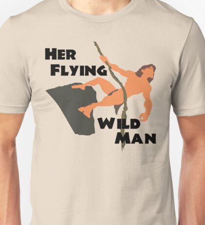 Disney's Tarzan - Her Flying WIld Man Couples Shirt for Him Unisex T-Shirt