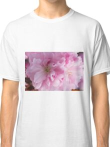 pink flowers on the trees Classic T-Shirt