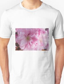 pink flowers on the trees Unisex T-Shirt
