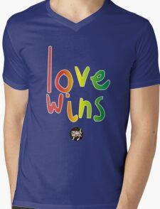 Mad Yogi # 5 Mens V-Neck T-Shirt