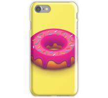 Forbidden Doughnut (Isometric Yellow) iPhone Case/Skin