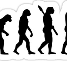 Evolution Bodybuilding Sticker
