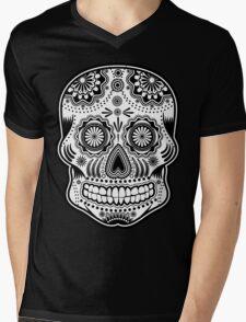 dia de los muertes Mens V-Neck T-Shirt