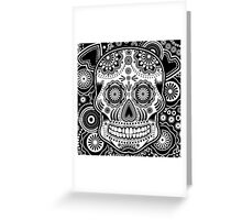 dia de los muertes Greeting Card