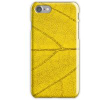 Leaf abstract texture  iPhone Case/Skin