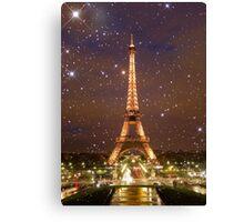 Paris (Tower) Canvas Print