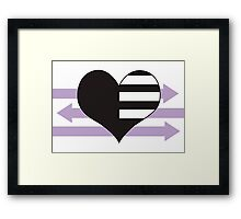 Love Anime Framed Print