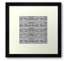 Grungy stripes Framed Print