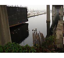Beneath the Ballard Bridge Photographic Print