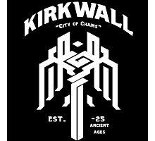 Dragon Age Kirkwall logo Photographic Print