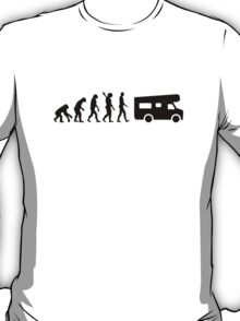 Evolution camping caravan T-Shirt