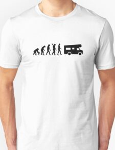 Evolution camping caravan Unisex T-Shirt