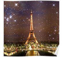Paris (Tower) (Square) Poster