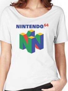 Nintendo 64 Logo  Women's Relaxed Fit T-Shirt