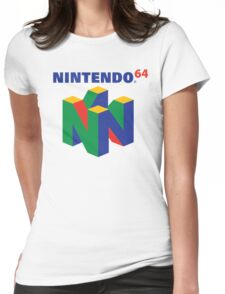 Nintendo 64 Logo  Womens Fitted T-Shirt