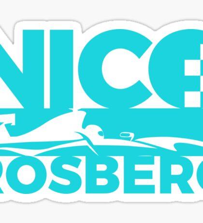 NICO ROSBERG Sticker