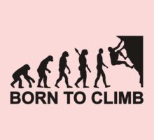 Evolution born to climbing Kids Clothes