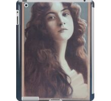 Performing Arts Posters Maude Fealy from copyright photo by Burr McIntosh NY 0164 iPad Case/Skin