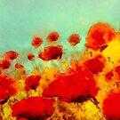 Poppy time'... by Valerie Anne Kelly