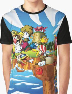 Wario - Super Mario Land 3 Graphic T-Shirt