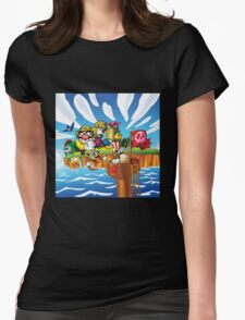Wario - Super Mario Land 3 Womens Fitted T-Shirt