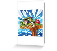 Wario - Super Mario Land 3 Greeting Card