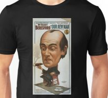 Performing Arts Posters JJ Coleman presents that odd fellow Mr Harry Beresford in Our new man by Chas T Vincent 0109 Unisex T-Shirt