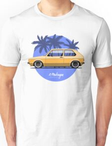 VW Golf mk1 (yellow) Unisex T-Shirt