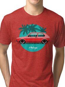 VW Golf mk1 (red) Tri-blend T-Shirt