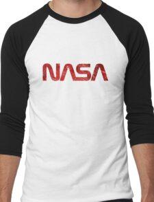 NASA Vintage Emblem 1975-1992 Men's Baseball ¾ T-Shirt