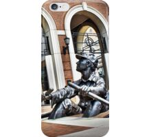 The Rowing Man iPhone Case/Skin