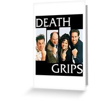 Death Grips Greeting Card