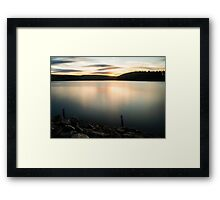 Cheer up the world is stunning  Framed Print