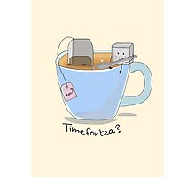 Time for tea? Photographic Print
