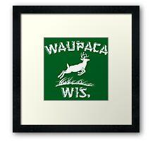 Waupaca Framed Print
