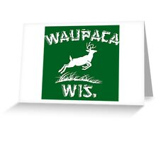 Waupaca Greeting Card
