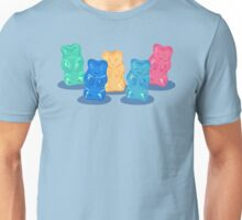 Pastel Gummy Bears Gang Unisex T-Shirt
