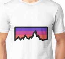 abstract mountain light Unisex T-Shirt