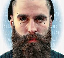 Ricki Hall Portrait by Liam  Golden