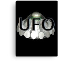 UFO   1970s TV series with the best flying saucer ever Canvas Print
