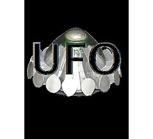 UFO   1970s TV series with the best flying saucer ever Photographic Print
