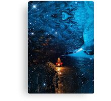 Blue Lagoon (Ice Land) Canvas Print