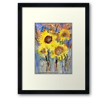 Sunflowers 1 Framed Print
