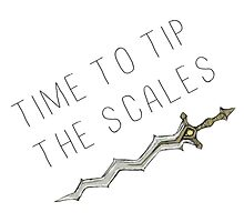 Time to tip the scales! (gentle) Photographic Print