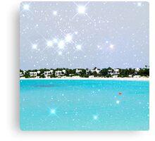 Anguilla  (Square) Canvas Print