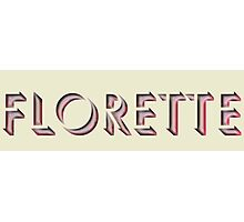 Florette Photographic Print