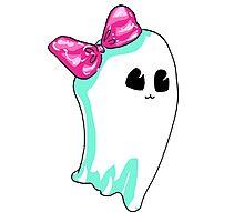 Ghostie Girl Photographic Print