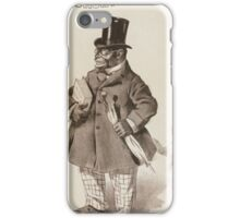 Performing Arts Posters Richards Pringles Famous Georgia Minstrels 0231 iPhone Case/Skin